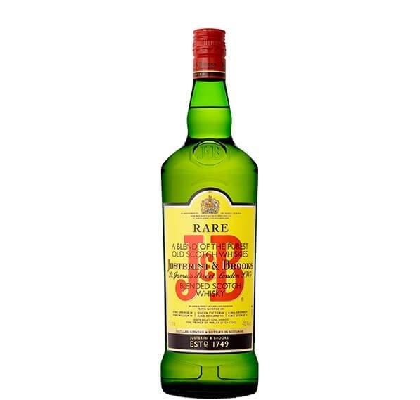 J&B whisky blend scotch