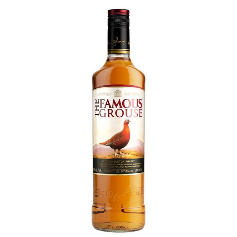 whisky the famous grouse scotch